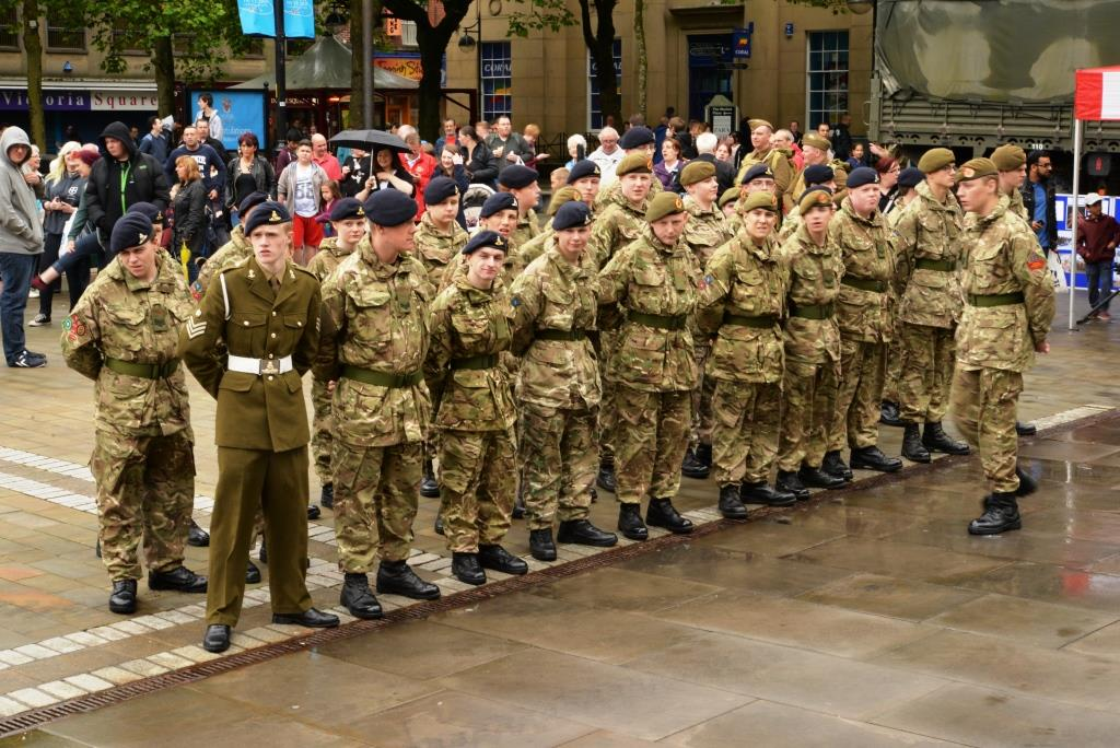 Armed Forces honoured in Bolton