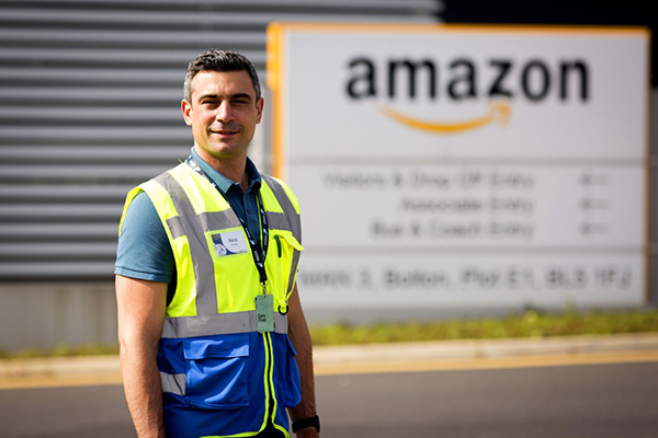 AMAZON DONATES TO BOLTON TRUST