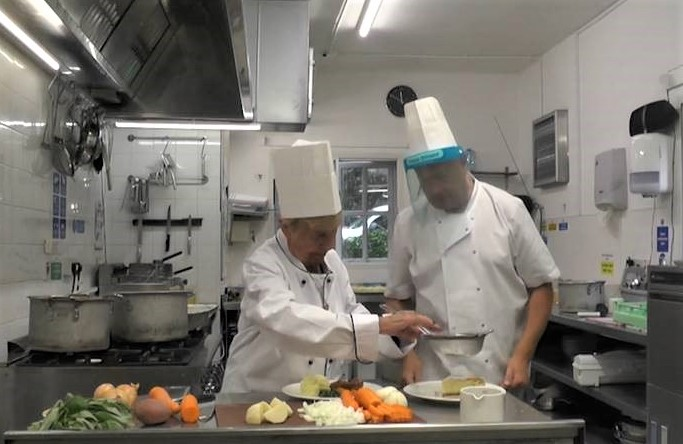 Horwich care home residents help create their favourite heritage dishes