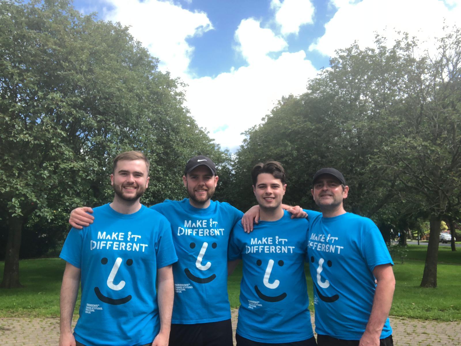 Horwich brothers take on Three Peaks in memory of Grandad