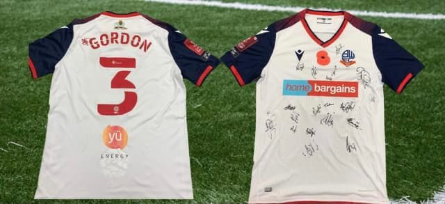 POPPY SHIRT SIGNED BY WANDERERS UP FOR GRABS IN CHARITY AUCTION