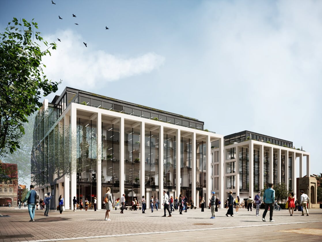 Green light for Crompton Place redevelopment