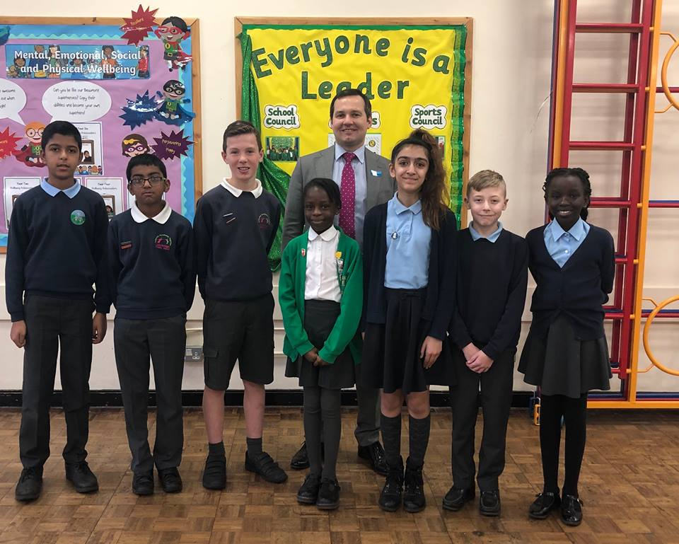 Bolton MP gets grilled by local school councillors