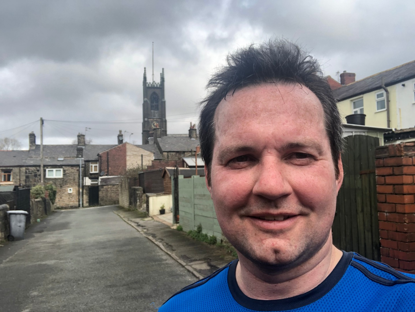 MP prepares for Rivington Pike Half Marathon