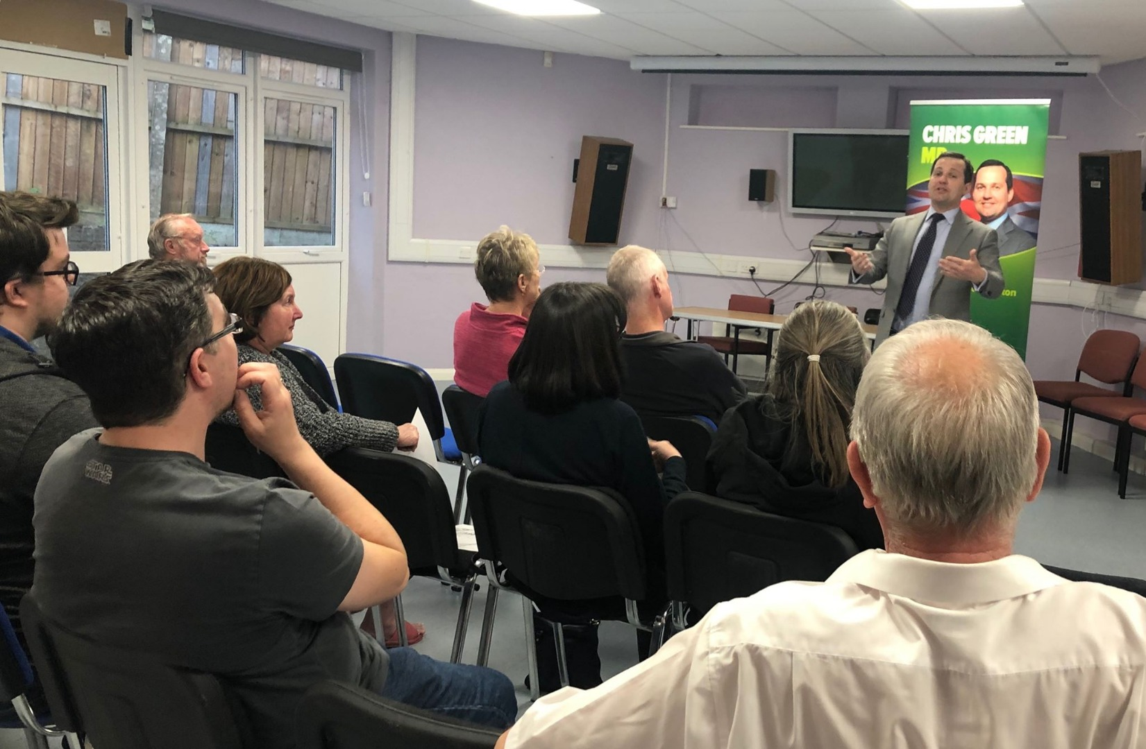 MP's Horwich public meeting a success