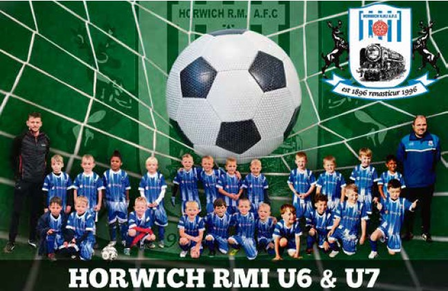 Spaces for U6 & U7 at Horwich RMI