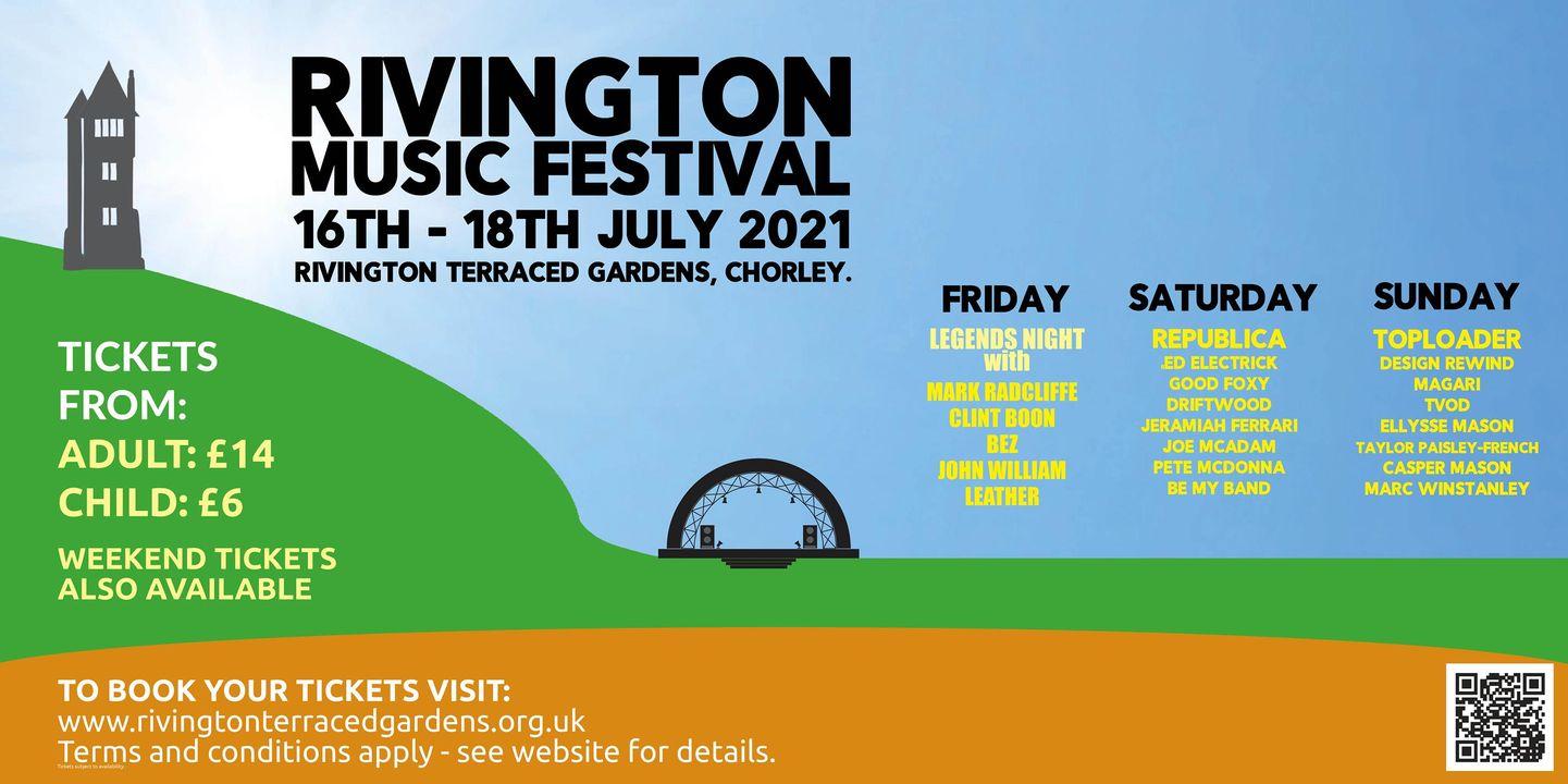 RIVINGTON MUSIC FESTIVAL GIVEN GREEN LIGHT