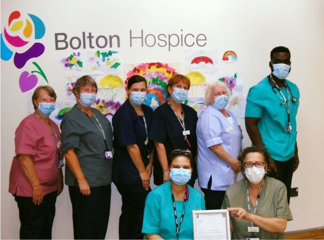HOSPICES WELCOME AMAZON'S SUPPORT