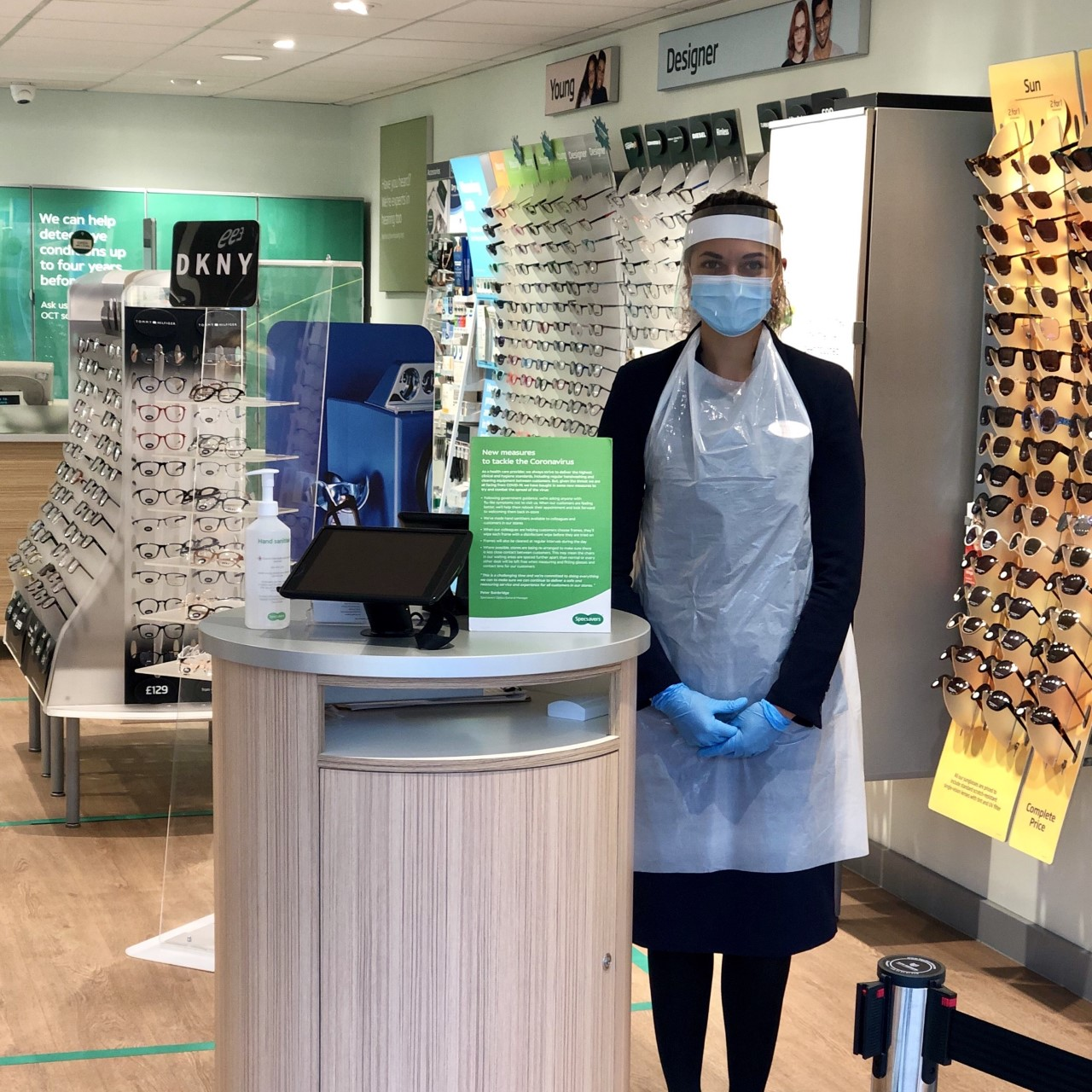 Specsavers stays open with safety front of mind