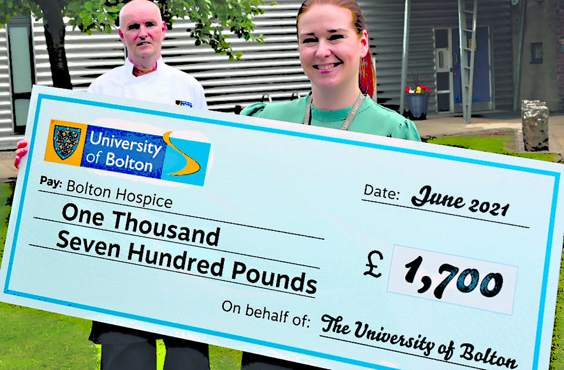 University's hospice boost