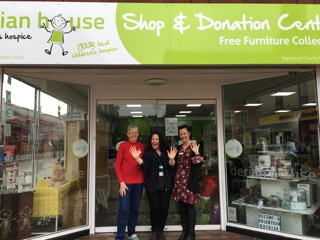 Happy Birthday bash at Chorley charity shop