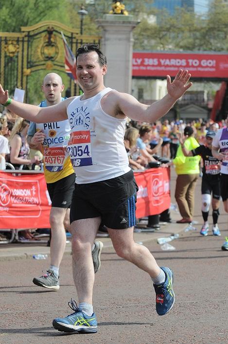 Bolton MP's marathon effort raises £1,500 for women's refuge