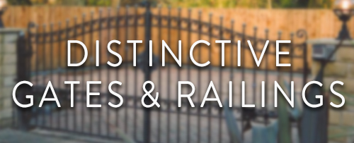 Distinctive Gates & Railings Logo