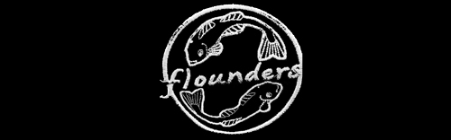Flounders Chippy Logo