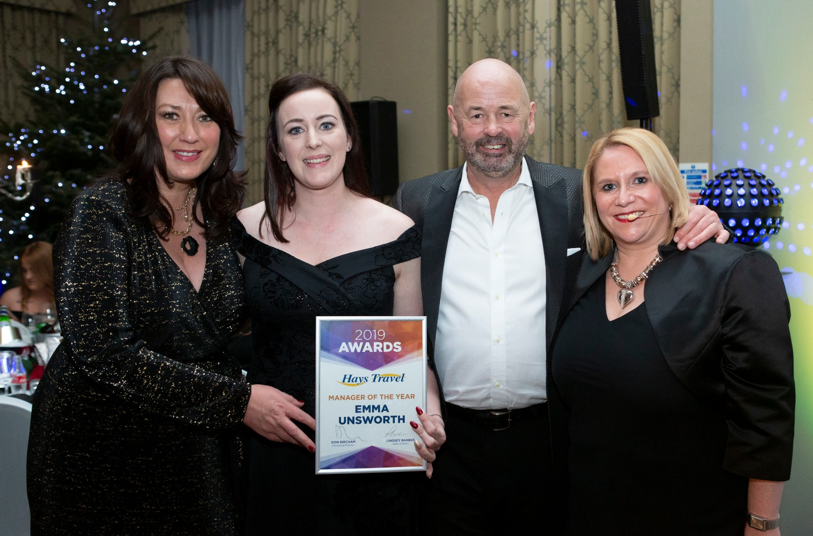HIGH-FLYING EMMA LANDS TOP AWARD AND IS NAMED MANAGER OF THE YEAR