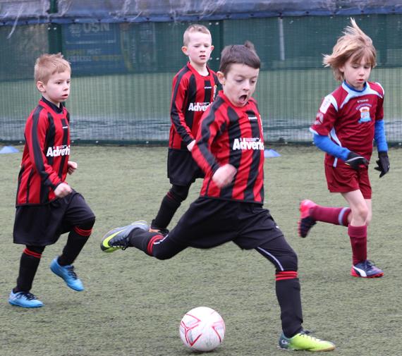 Grassroots Football in Adlington
