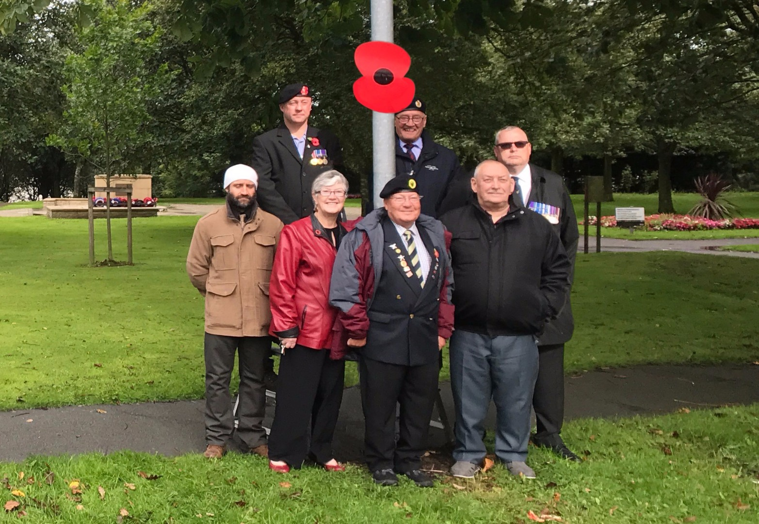 Giant Poppies to adorn the streets of Horwich