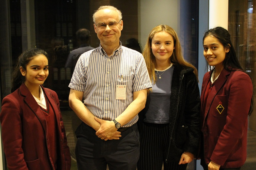 Dr Ralph Delivers Royal Statistical Society Lecture