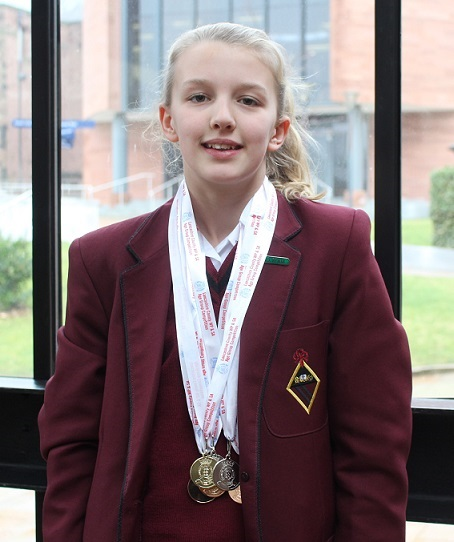 County swim successes for Lucy