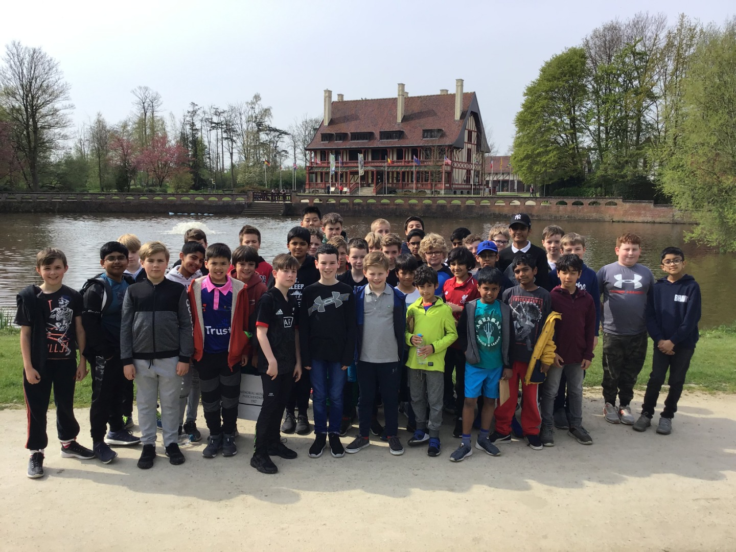 Boys' Battlefields Trip