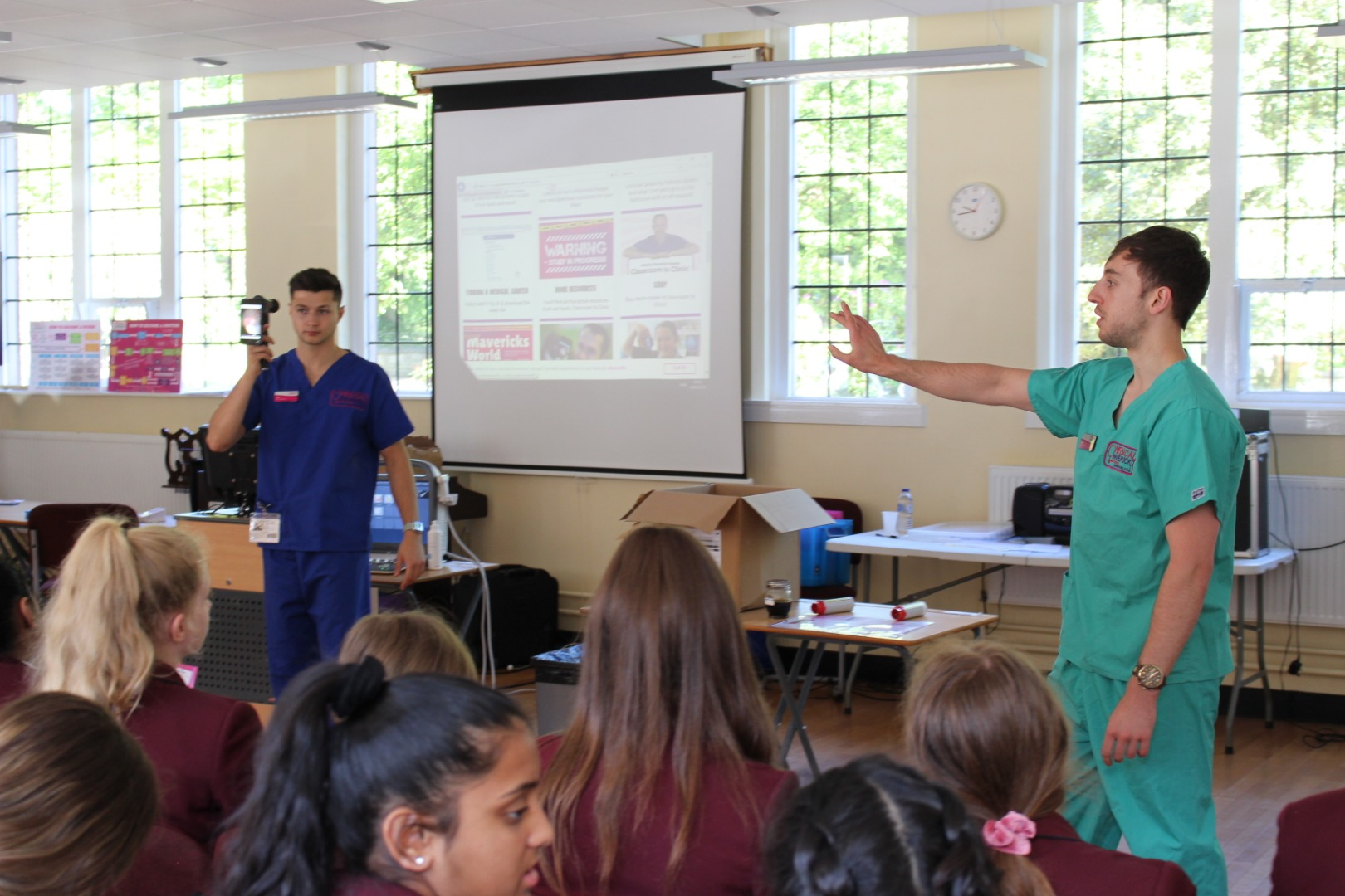 Medical Mavericks at Bolton School