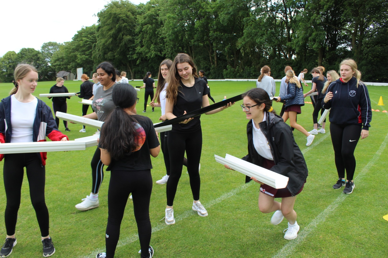Girls Develop Skills with Commando Joe's