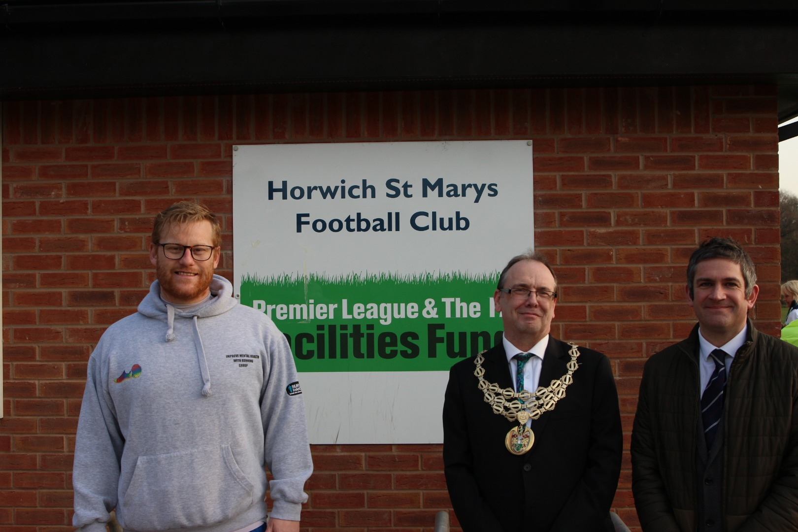 Sam's Warr;ors move to St Mary's JFC playing fields sports hut