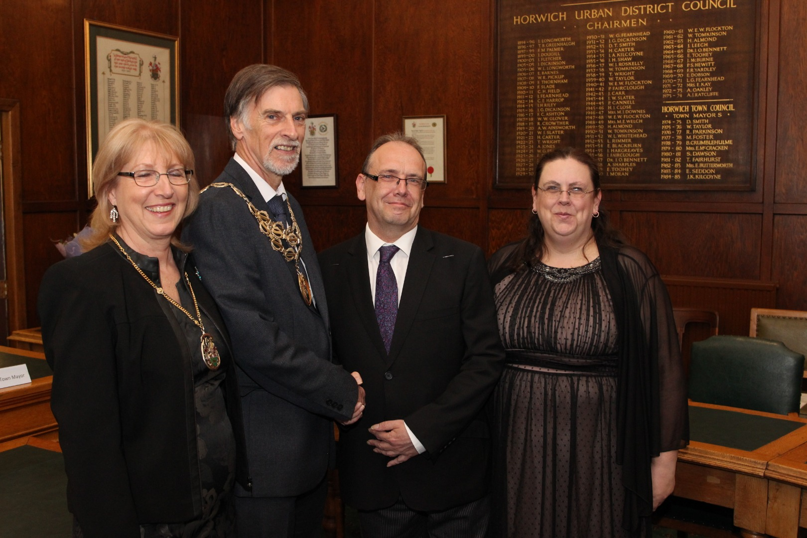 New Horwich Town Mayor elected