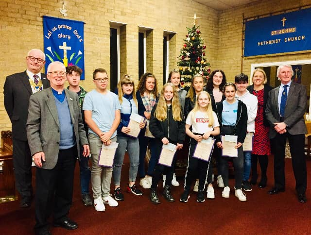 ROTARY CLUB OF HORWICH YOUTH ACHIEVEMENT AWARDS 2019