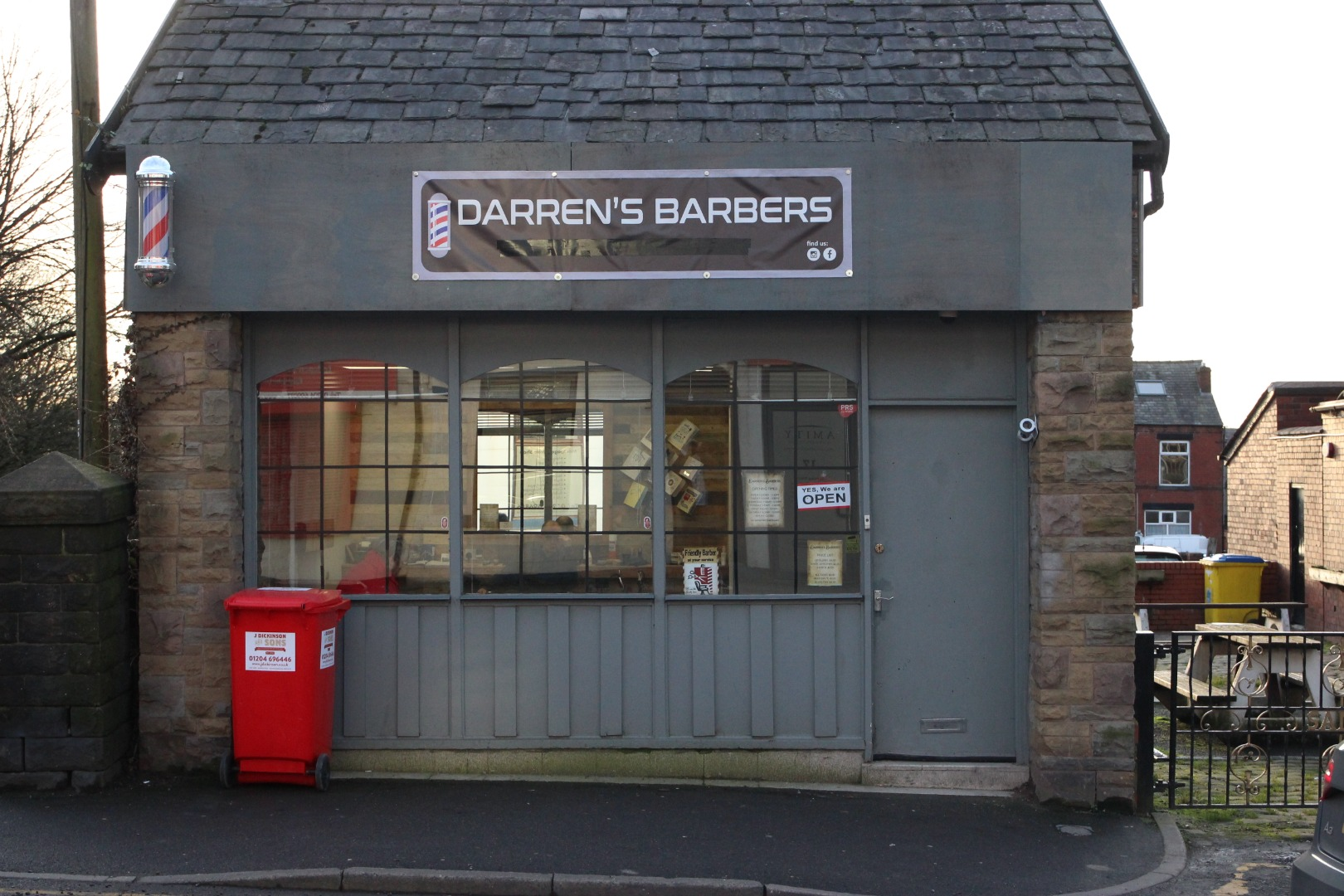 New barbers is a cut above