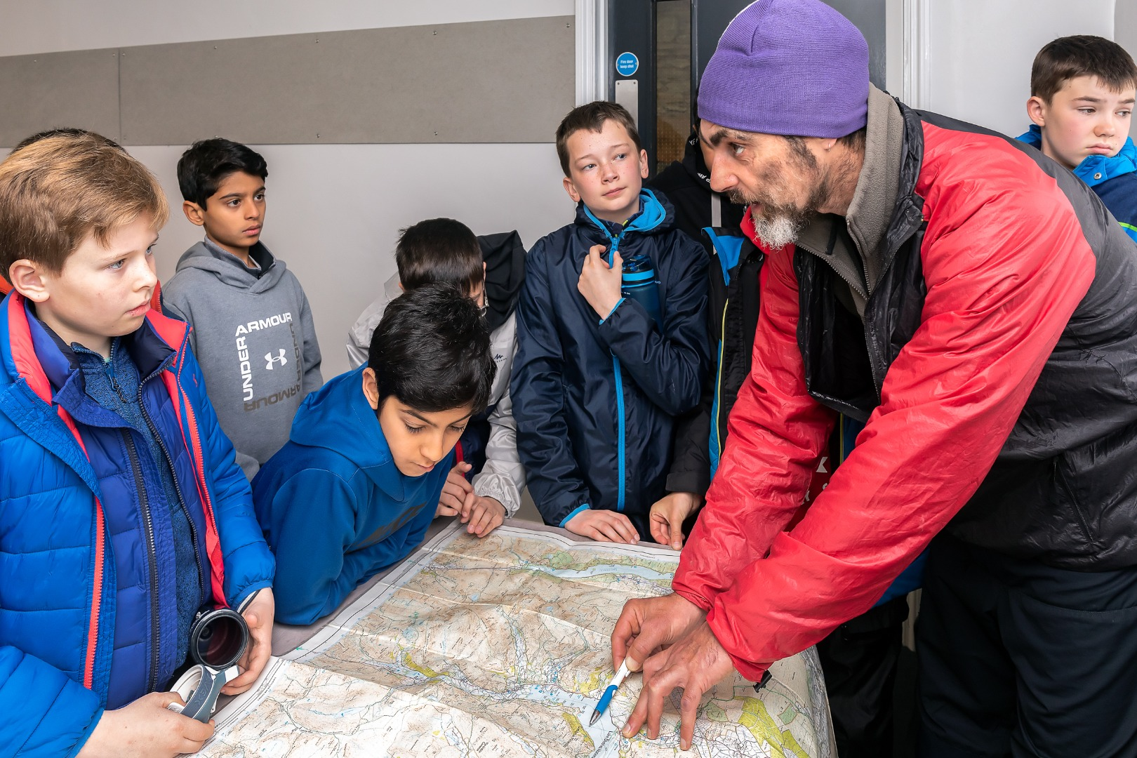 School Backs AdventureSmart UK