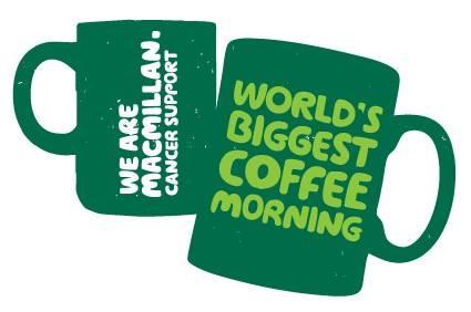 Macmillan coffee morning at St Elizabeth's