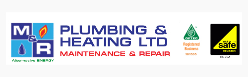 M&R Plumbing & Heating LTD Logo