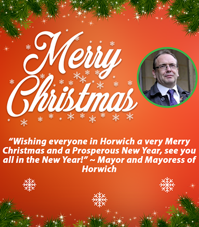 A Christmas message from our Mayor and Mayoress