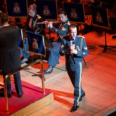 RAF Bands celebrate 100 years of the Royal Air Force