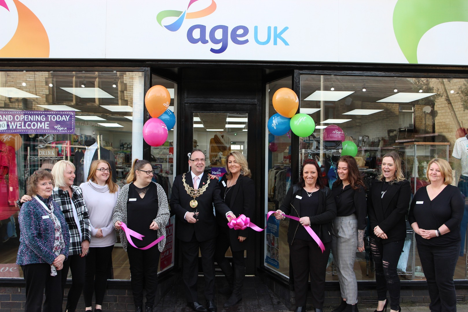 Age UK Horwich has their grand re-opening