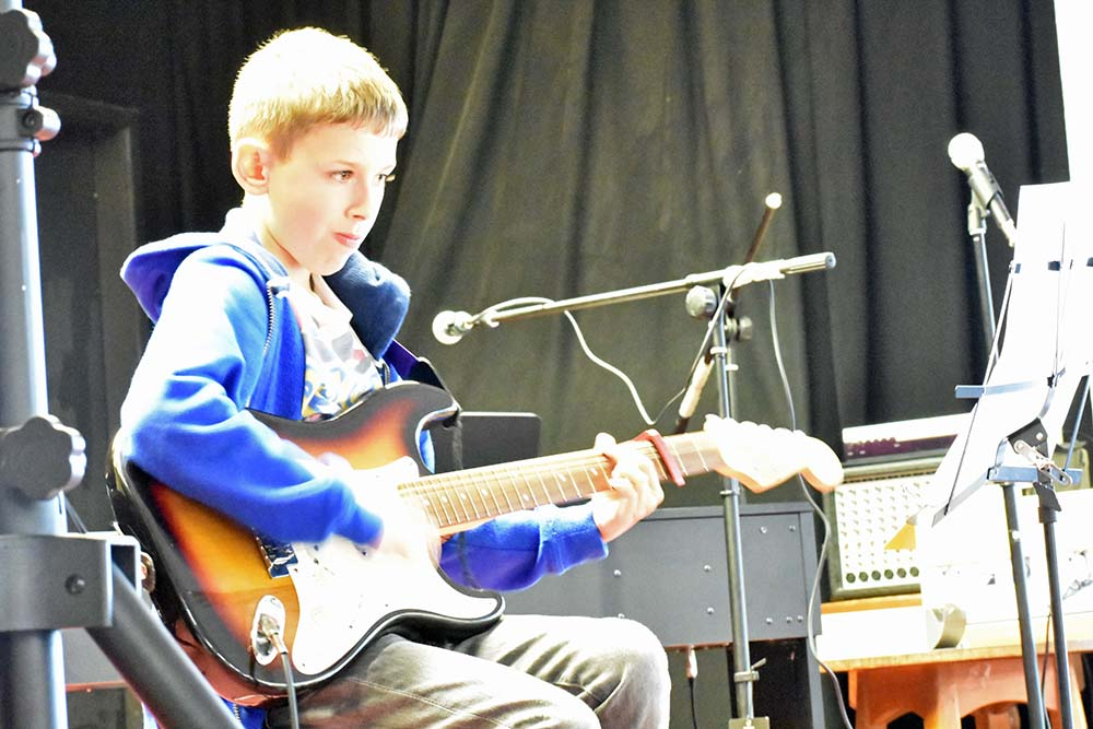 Young musicians from Bolton and Leyland raise money for local causes