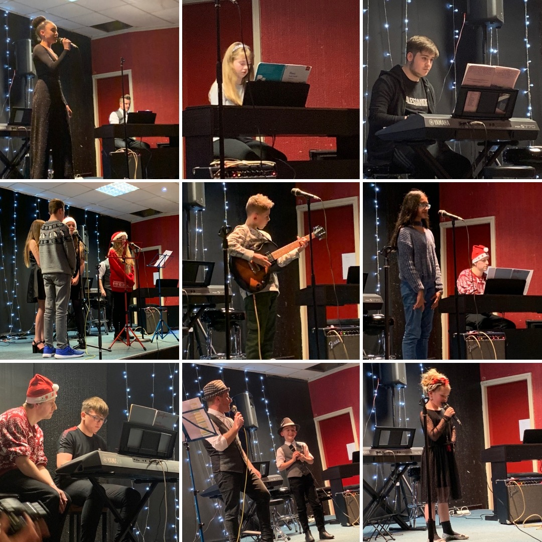 Local music students raise over £500 for charity