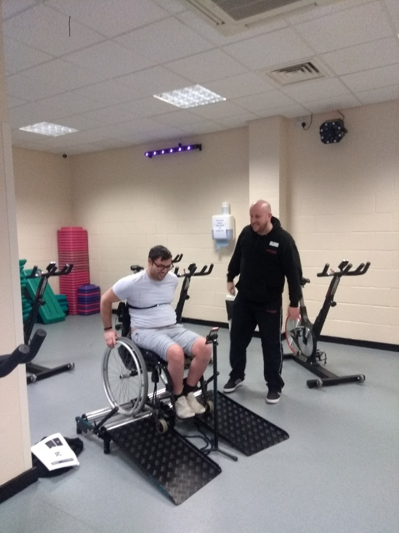 Accessible kit for 'Superhumans' trialling at Horwich