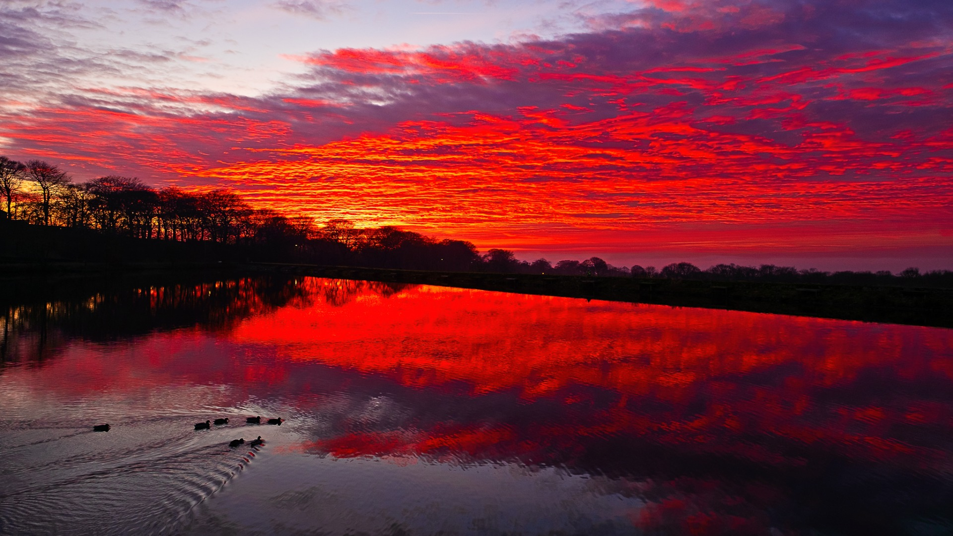 PICTURED: Sunset views over Horwich