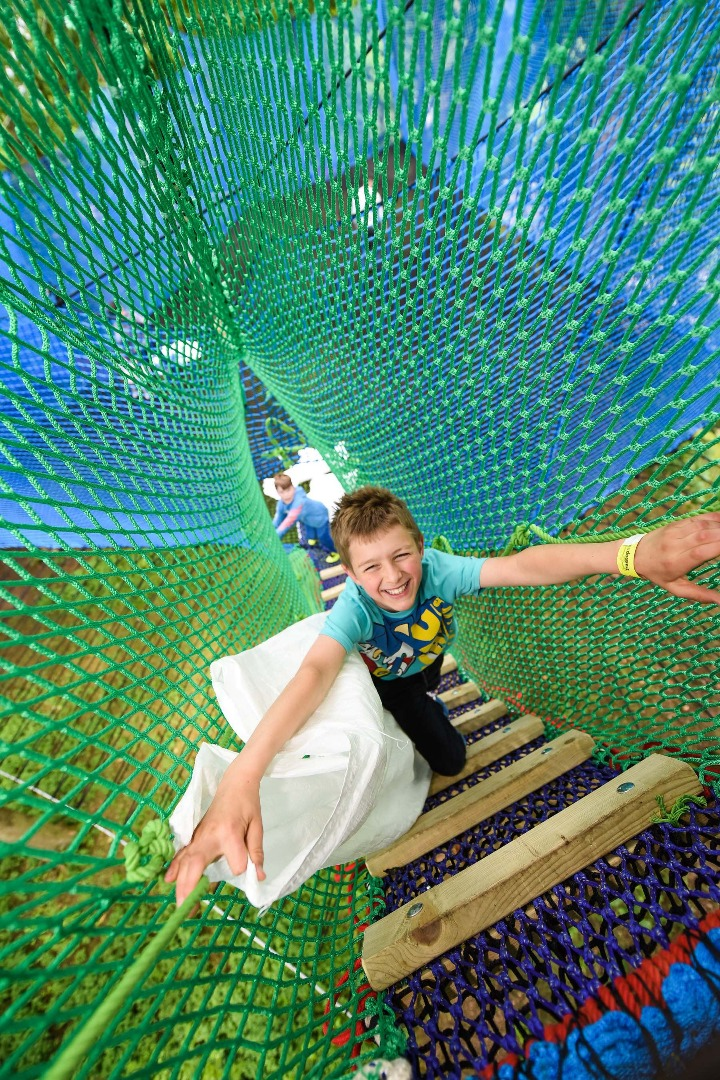 Device-free family fun together this Summer at Treetop Nets