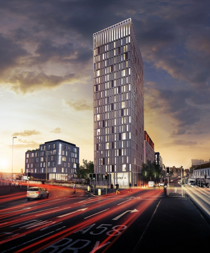 £45 million plans for huge residential tower in Bolton
