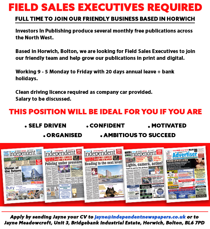 Field sales advert