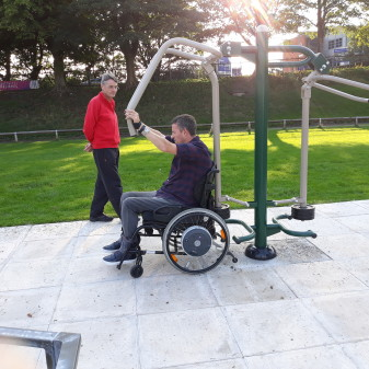 New inclusive facilities launched at athletics track