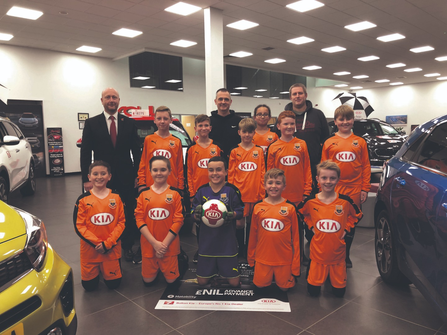 Clubs get shirty thanks to Kia