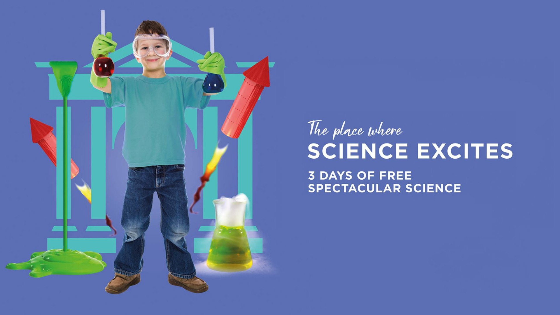 Get excited by science at Market Place
