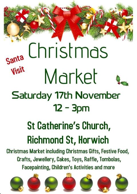 Christmas Market in Horwich is fast approaching
