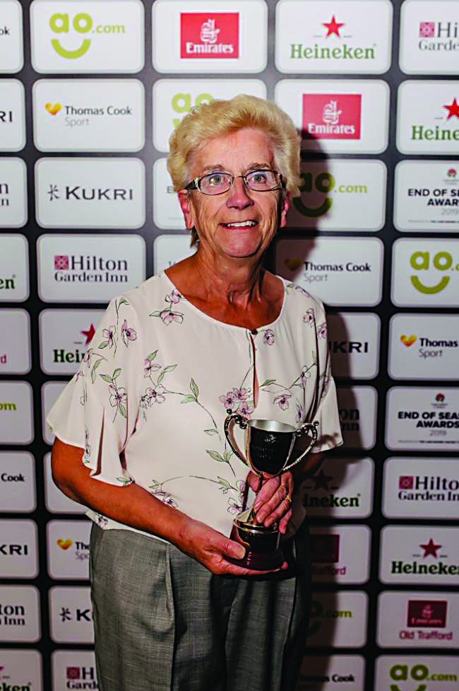 Cricket stalwart honoured