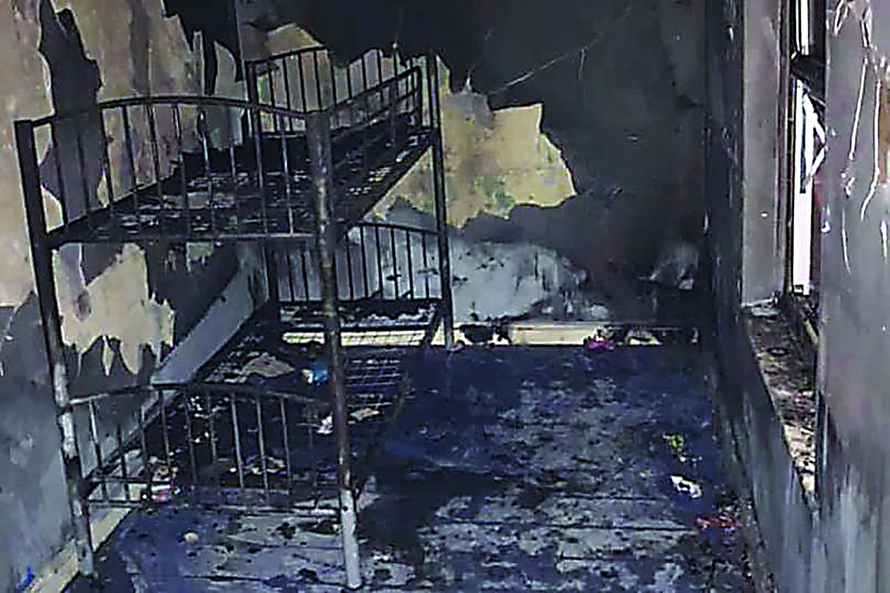 Mum and young family lose everything in house fire