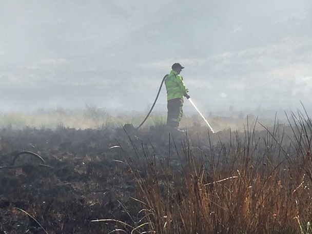 Latest on Winter Hill fire